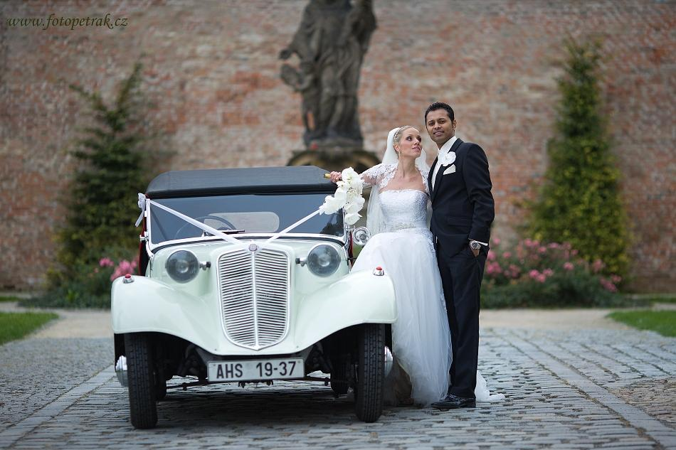 Svatební veteráni - Tatra 57 a Sport - Obrázek č. 207