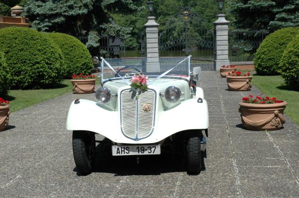 Svatební veteráni - Tatra 57 a Sport - Obrázek č. 208