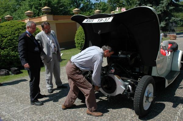 Svatební veteráni - Tatra 57 a Sport - Obrázek č. 210