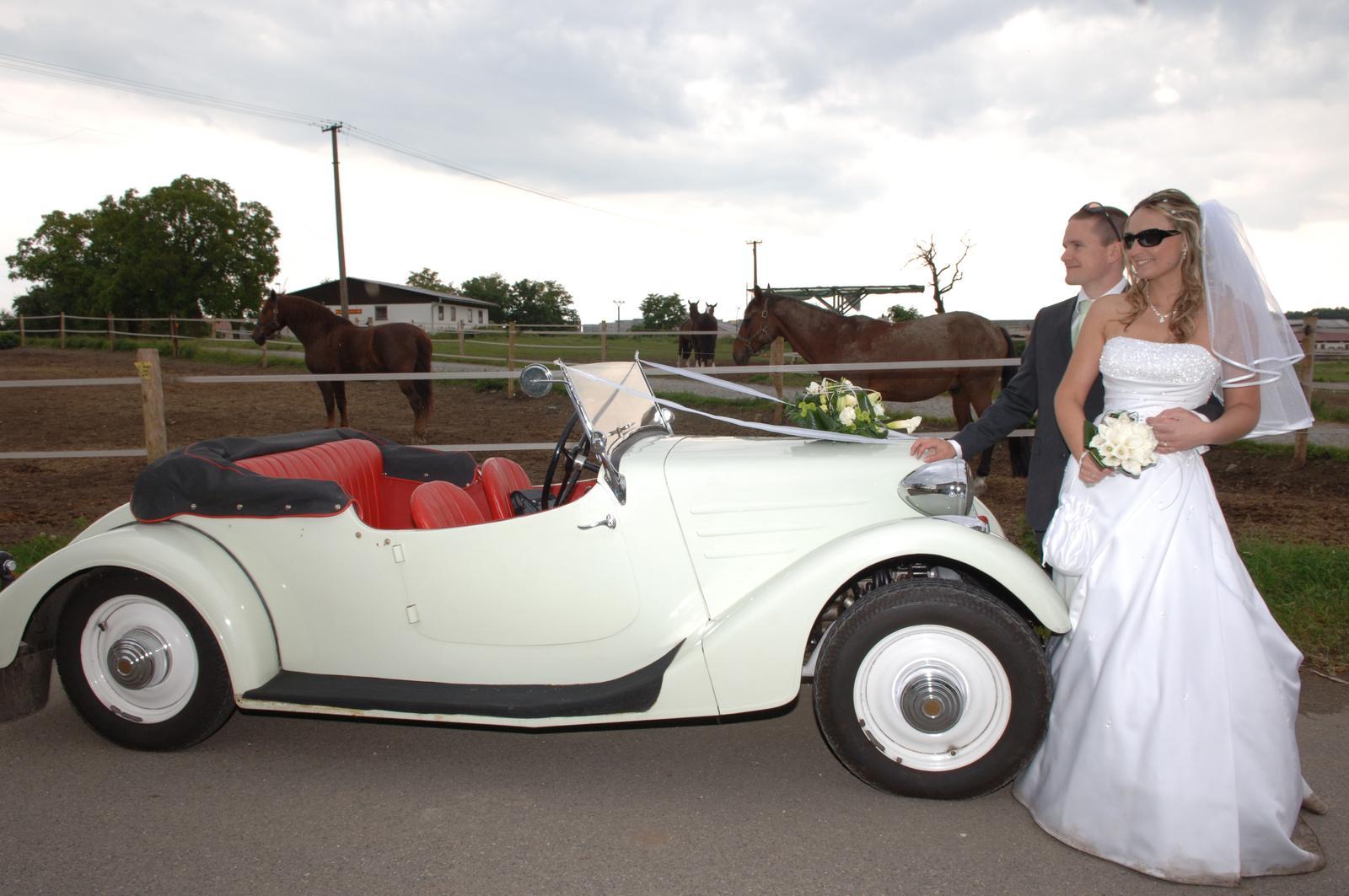 Svatební veteráni - Tatra 57 a Sport - Obrázek č. 225