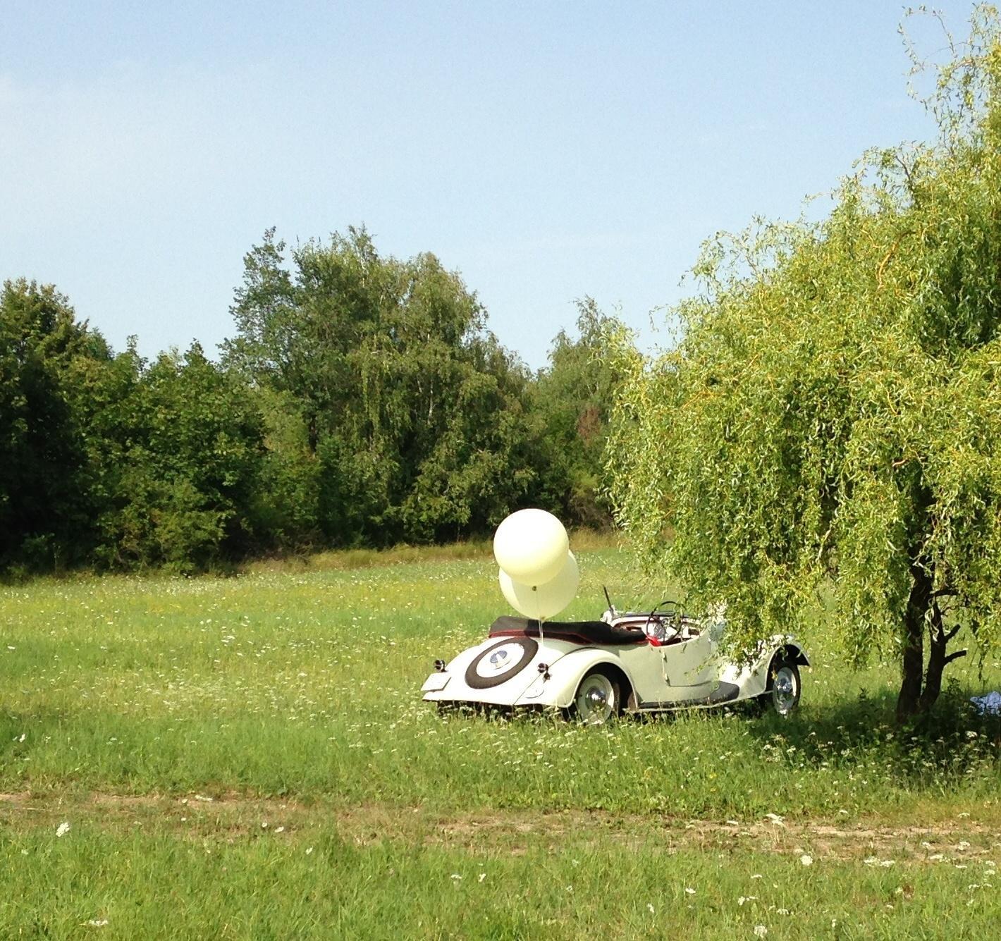 Svatební veteráni - Tatra 57 a Sport - Obrázek č. 241