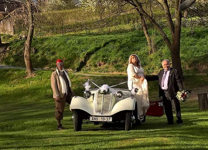 Svatební veteráni - Tatra 57 a Sport - Obrázek č. 248