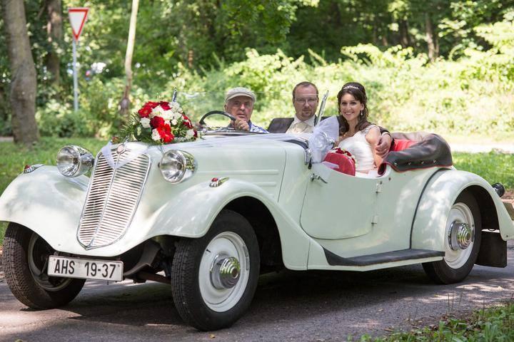Svatební veteráni - Tatra 57 a Sport - Obrázek č. 295