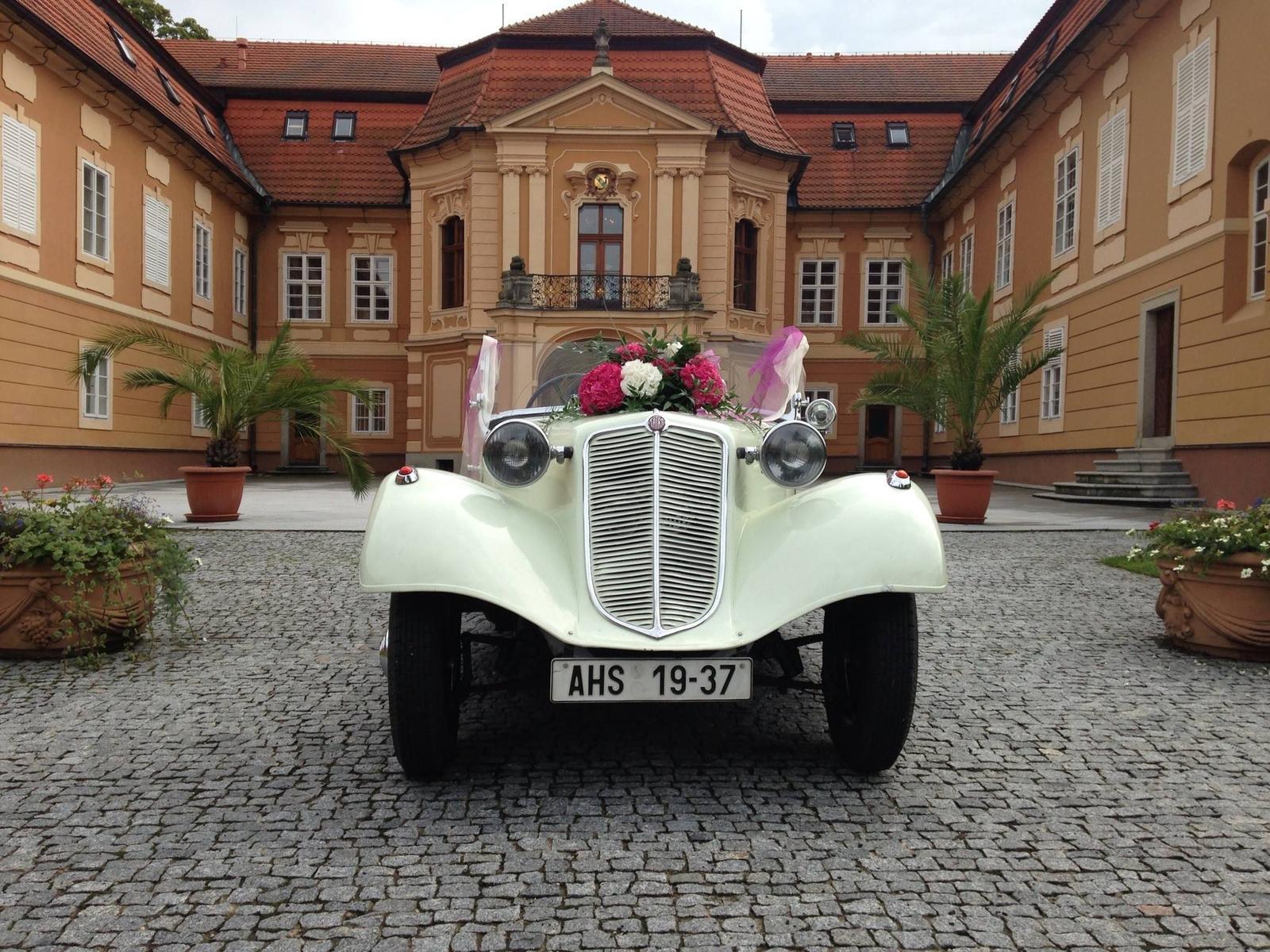 Svatební veteráni - Tatra 57 a Sport - Obrázek č. 298