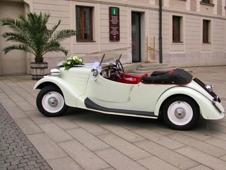 Svatební veteráni - Tatra 57 a Sport - Obrázek č. 306