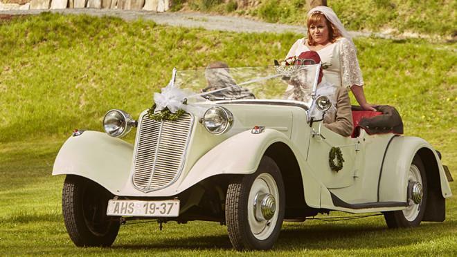 Svatební veteráni - Tatra 57 a Sport - Obrázek č. 321