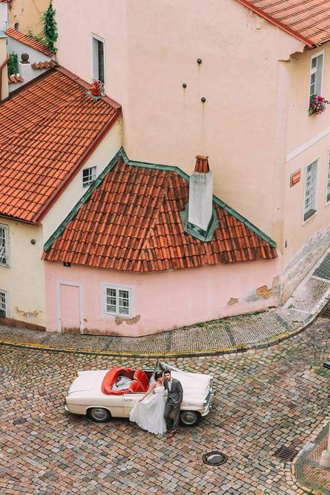 Veteránem na svatbu - Škoda Felicia, Nový Svět
