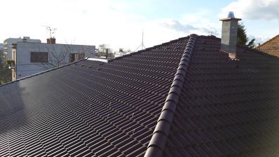 11.12.2014 - konečne dokončená strecha