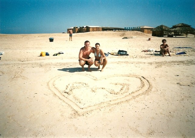 Janka a Patrik - Tak taketo prekvapenie spravil Patrik pre mna na dovolenke v Egypte
