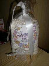 svadobna ryža od sesternice z Ameriky