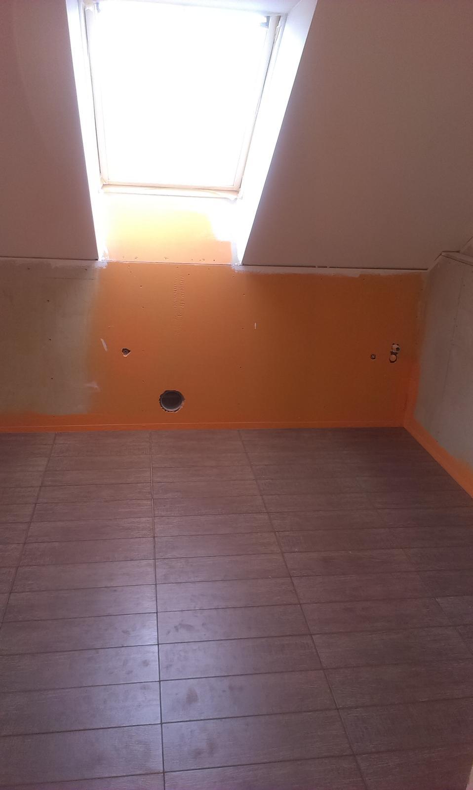 Nova 77 - Dlažba v hornej kúpelni
