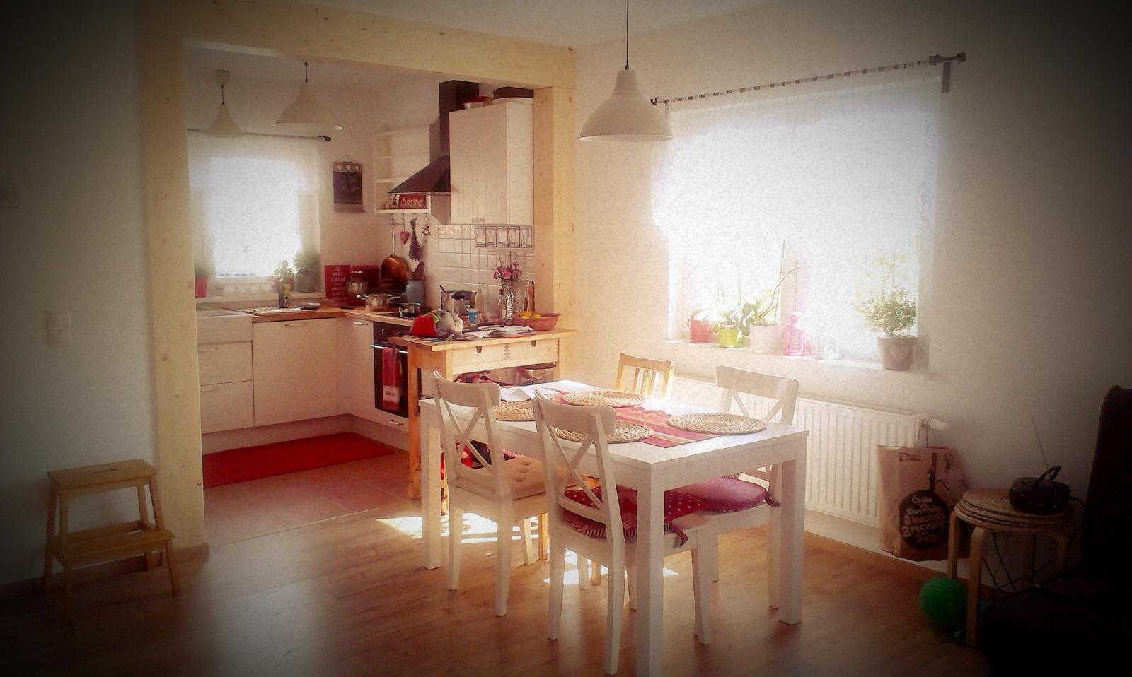 """Zariaďujem a ,,tuningujem"""" :-) - obedné slnko - užívam si svetlé a slnečné bývanie"""