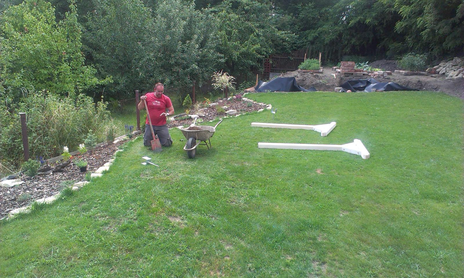 Záhrada - Akce sušiak - časť prvá - základy