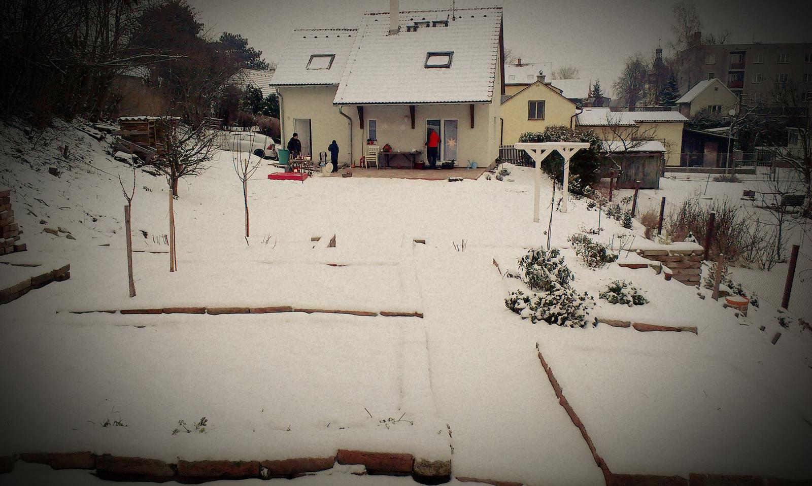 Záhrada - Silvester 2014