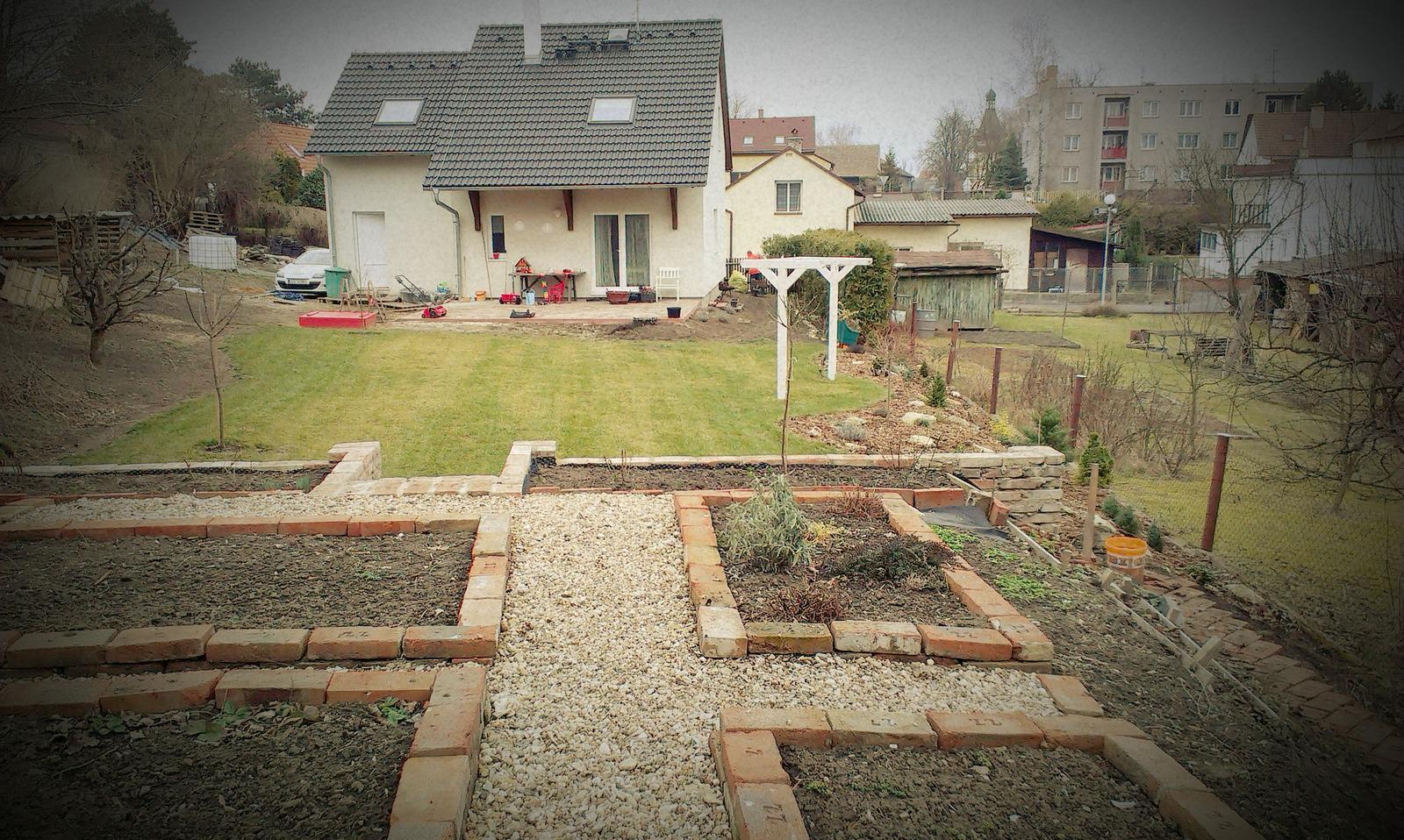 Záhrada - Březen/2015