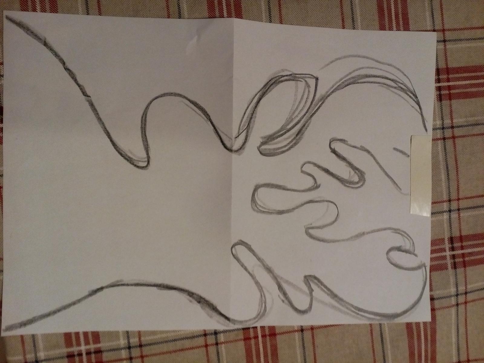 HAND MADE - nákres volnou rukou