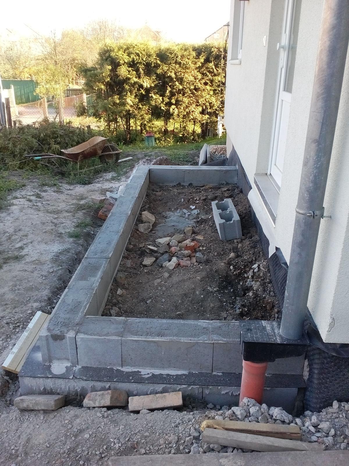 Schody do domu - projekt r.2016 - 1.rada strateneho bednenia