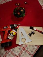 Výroba vešiakov pre deti