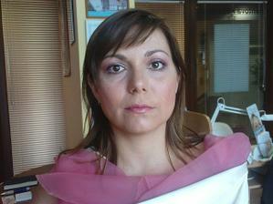 čerstvý make-up na zkoušce