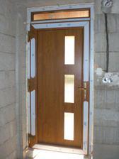 Vchodové dveře, no není to nádhera??