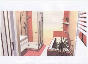 Návrh koupelny, ne uplne presny