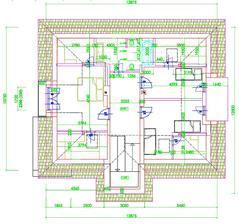 projekt podkrovia, tam nalavo by som chcel ale asi 2 izby ako su tie napravo