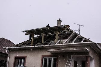 Idealne pocasie na vymenu strechy ;)