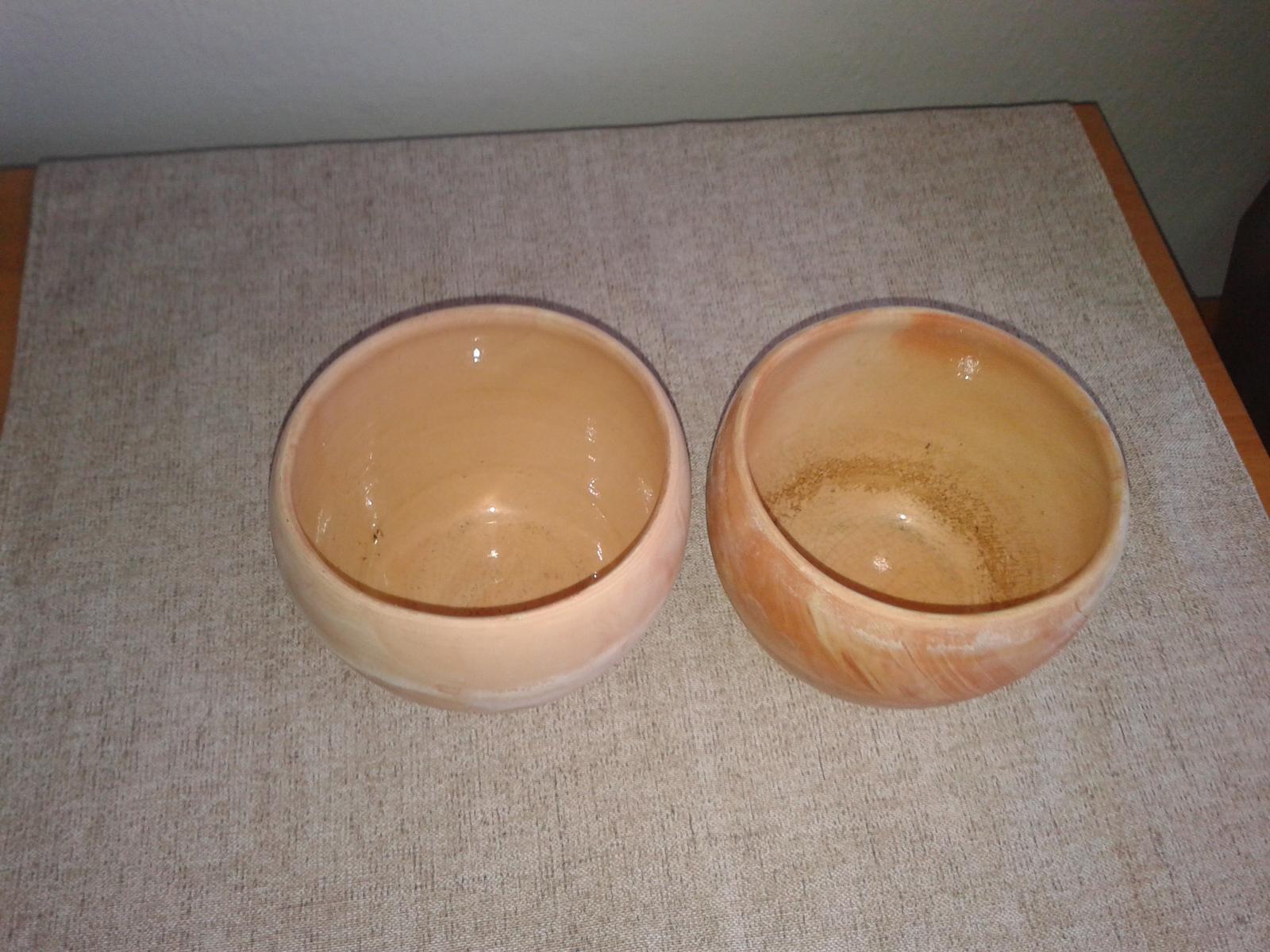 2 keramické črepníky na kvet  - Obrázok č. 1