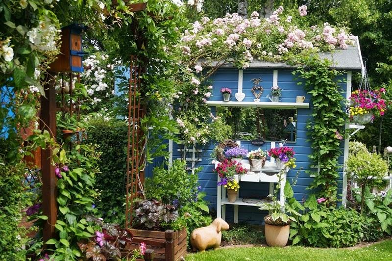 Vidiecke záhrady - inšpirácie - Obrázok č. 22