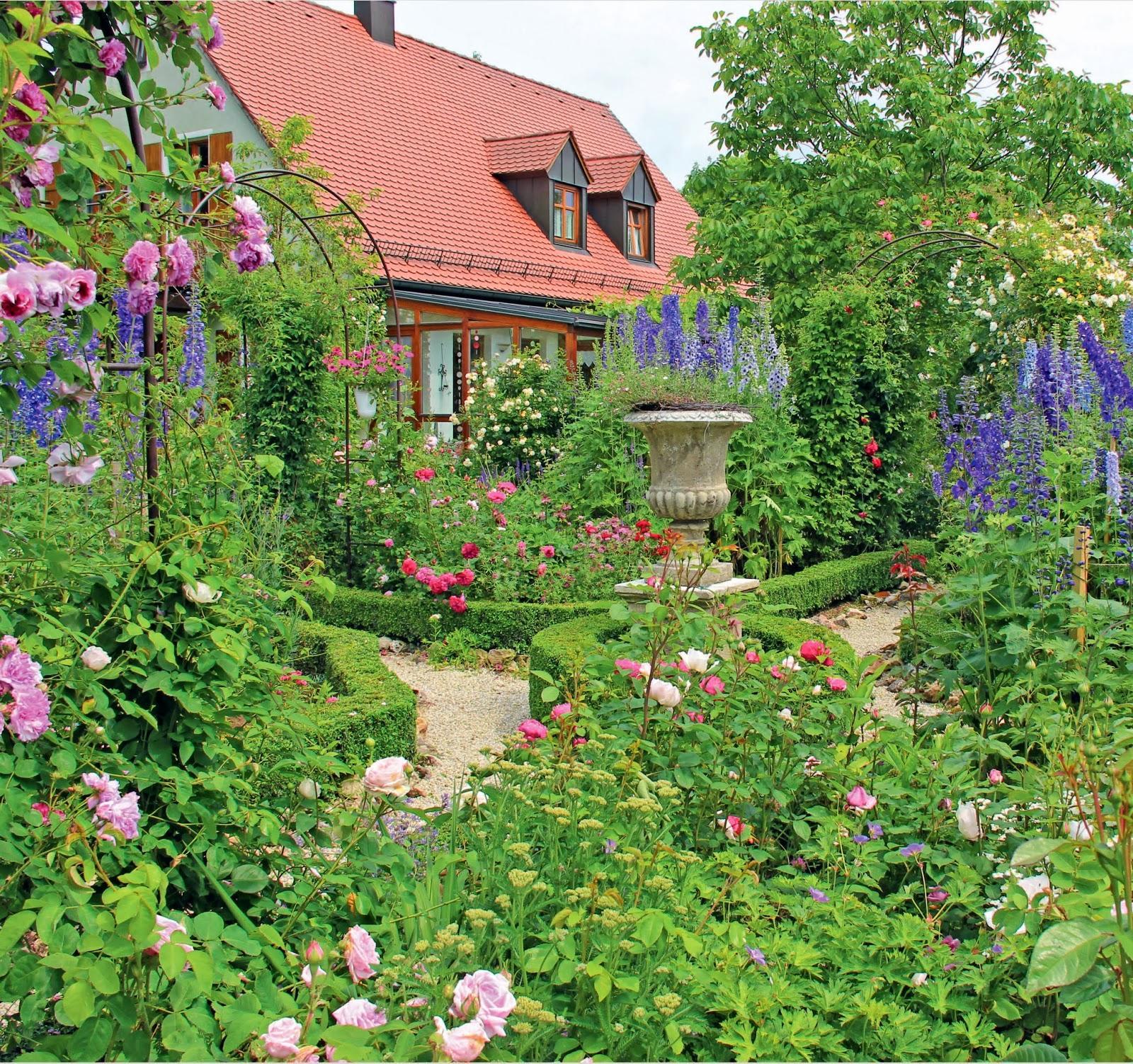 Vidiecke záhrady - inšpirácie - Obrázok č. 97