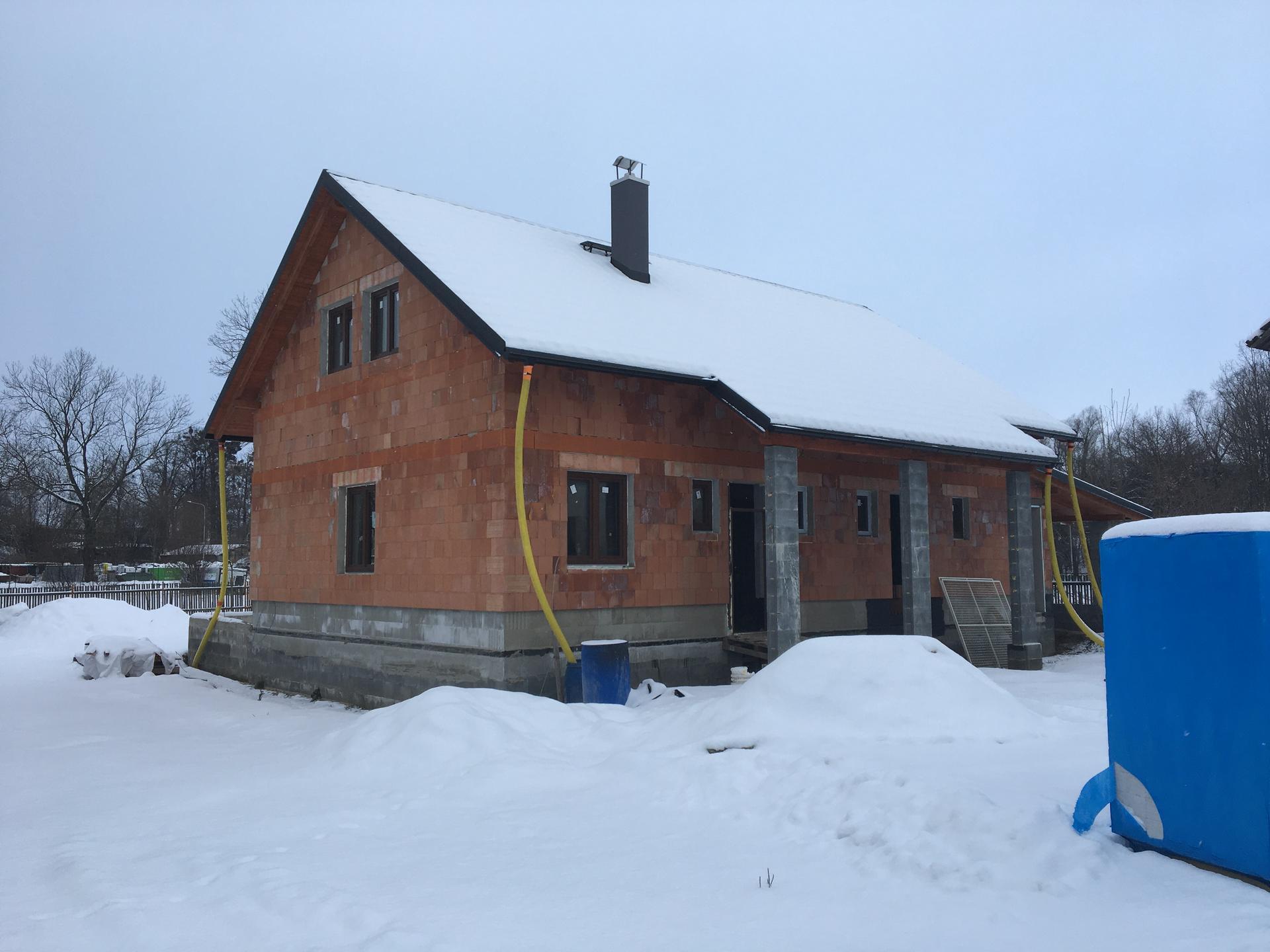 Stavba od výkopu po lustr - Obrázek č. 10
