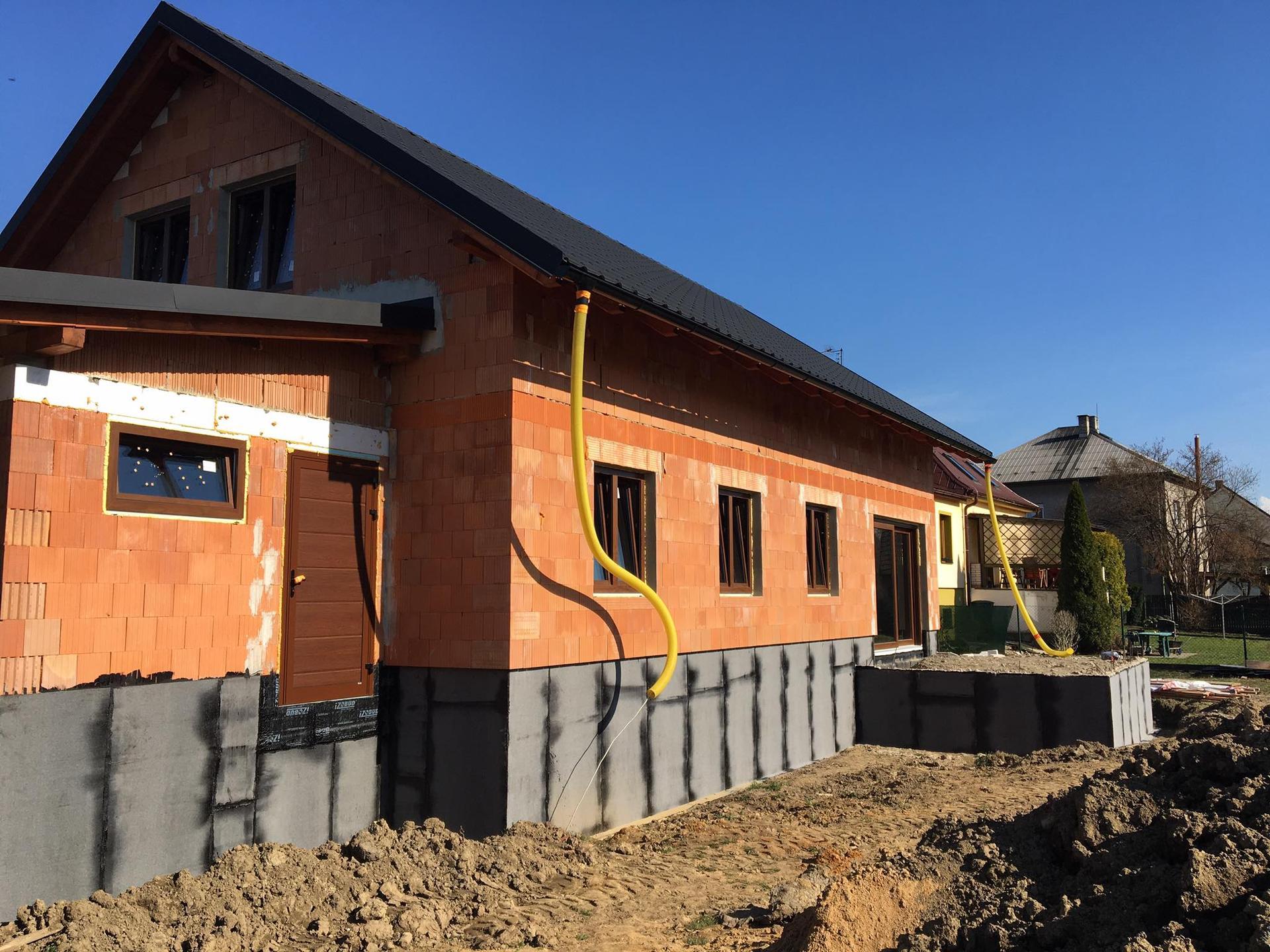 Stavba od výkopu po lustr - Obrázek č. 11