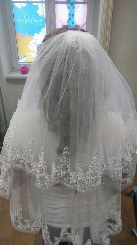 Svadobny zavoj s trblietkami - Obrázok č. 1