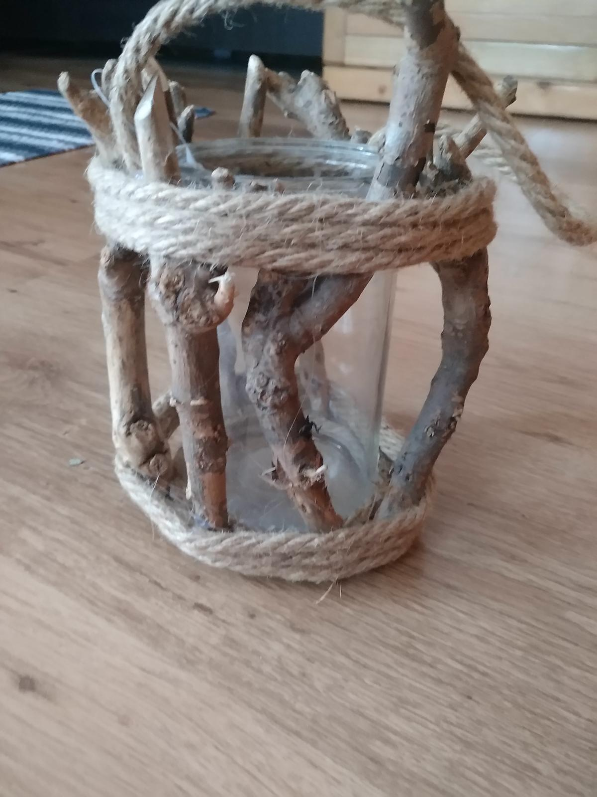 Svietnik dreveny - Obrázok č. 4