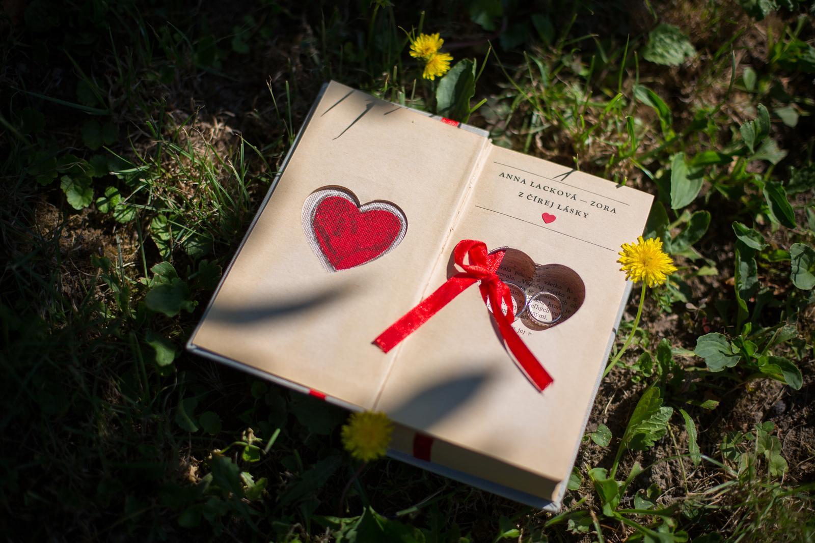 Janka{{_AND_}}Roman - knižná svadba - naša tematická knižná krabička na prstene
