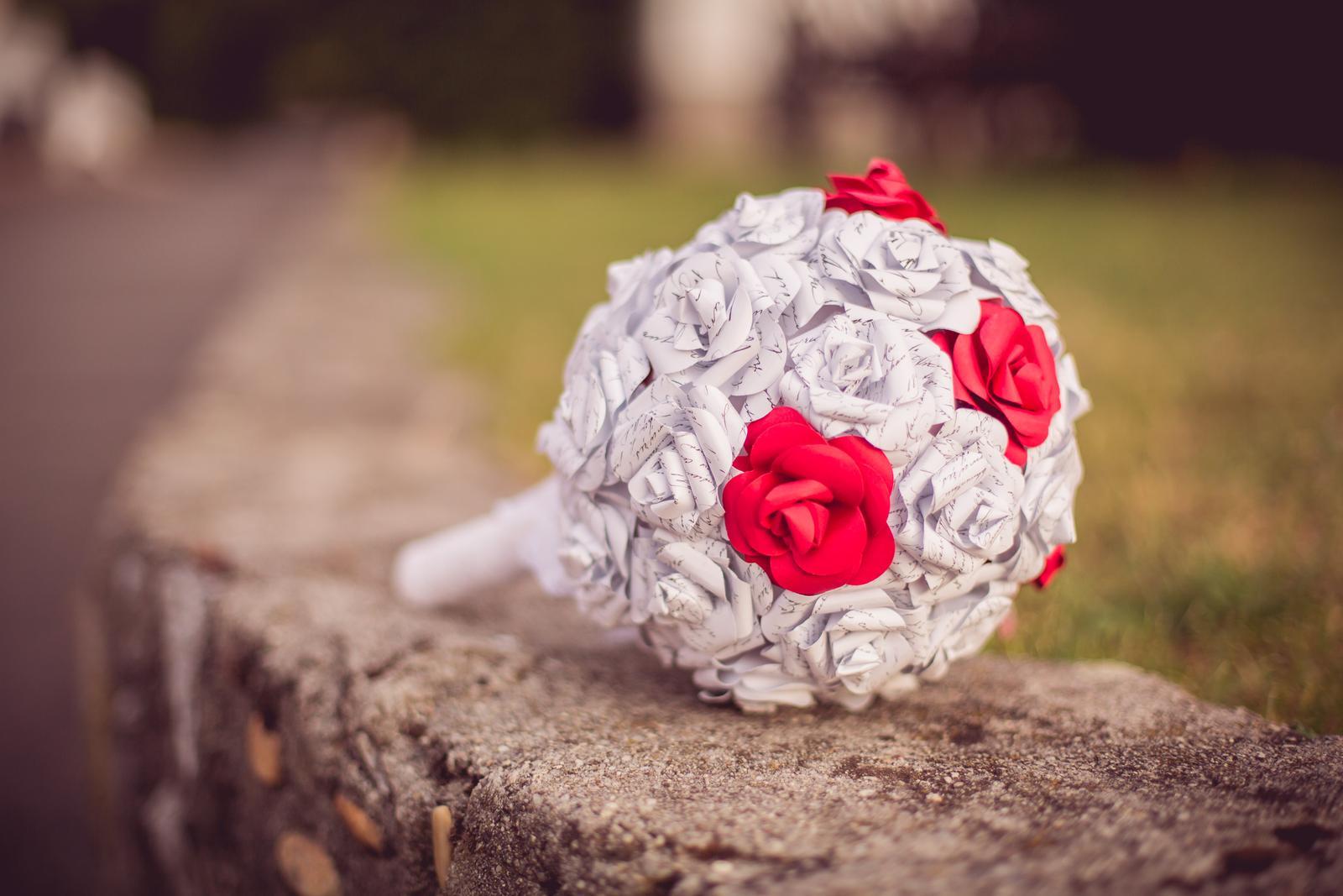 Janka{{_AND_}}Roman - knižná svadba - moja krásna knižná kytica
