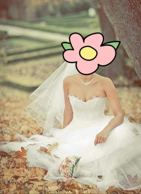 kvalitné svadobné šaty 36/38 - Obrázok č. 1