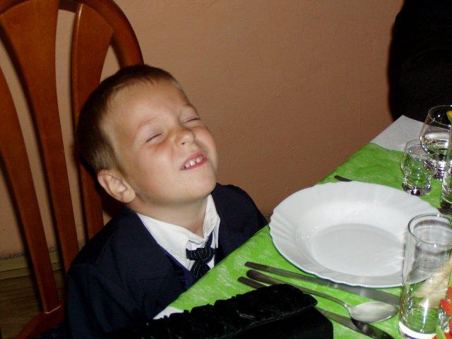 Martina{{_AND_}}Marek - naše staršie krsniatko - Daneček
