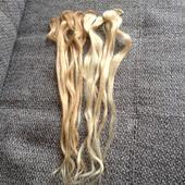 Pramene vlasov plavý blond 10ks,