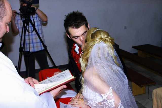 Maťka Mihalčíková{{_AND_}}Stanko Rehuš - aaaa už sme manželia. Prvý novomanželský božtek