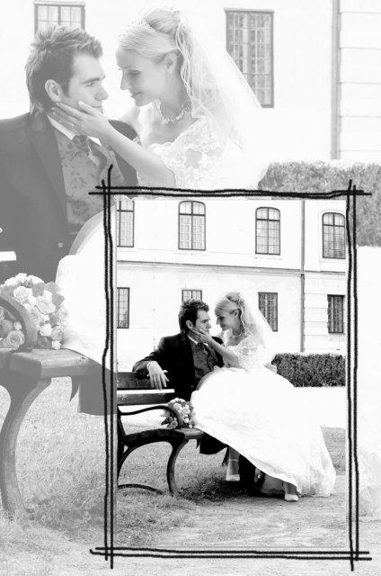 Umelecké foto zo svadby - Obrázok č. 1
