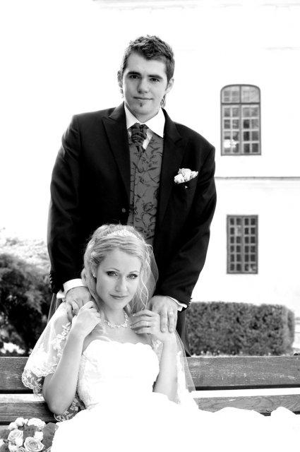 Umelecké foto zo svadby - Obrázok č. 3