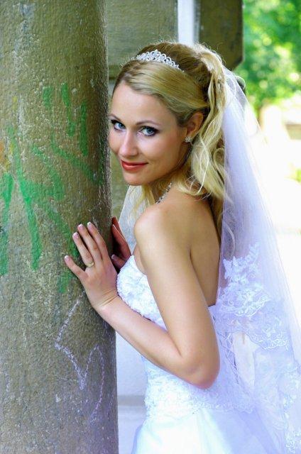 Umelecké foto zo svadby - Obrázok č. 19