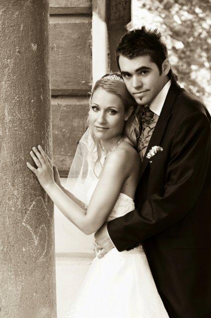 Umelecké foto zo svadby - Obrázok č. 20