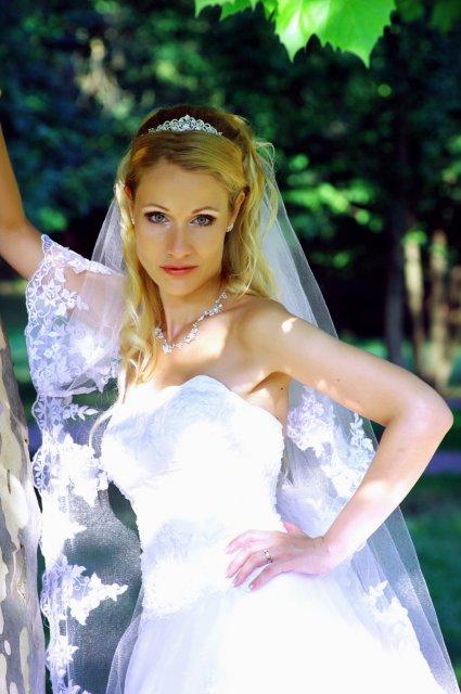 Umelecké foto zo svadby - Obrázok č. 29