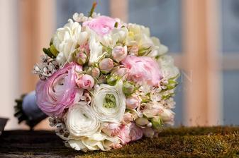 ...predstava svadobnej kytice...