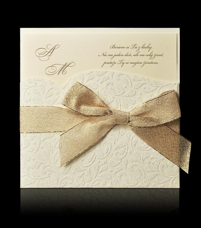 Bude svadba, svadbička :) - ...jemné, elegantné...