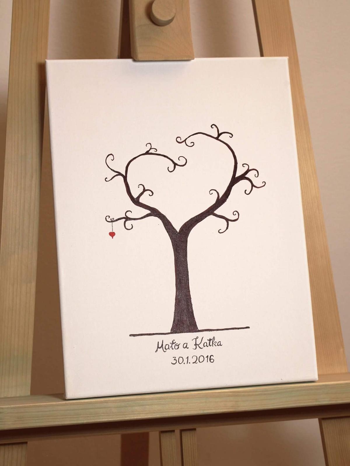 Bude svadba, svadbička :) - ...ešte zohnať nejaký pekný a originálny stromček...