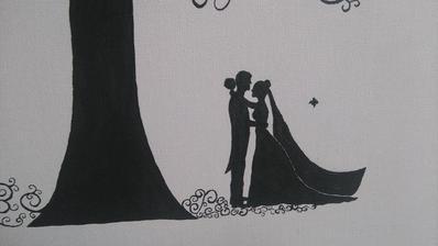 detail svadobného stromu