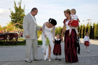 s najkrajsimi druzickami :-) Hankou, Zofkou a Veronikou